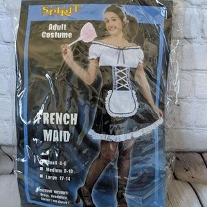 Spirit Halloween French Maid Costume, Small